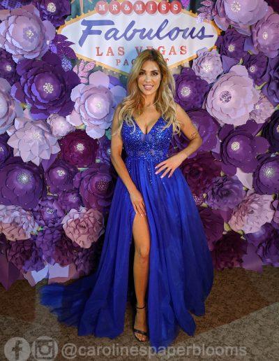 Miss Fabulous Las Vegas 2019 - Carolines Paper Blooms Paper Flower Wall Backdrop Las Vegas NV Miss Fabulous Las Vegas 2019-12