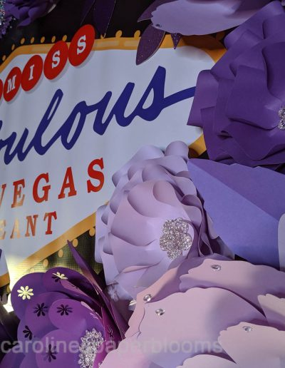 Miss Fabulous Las Vegas 2019 - Carolines Paper Blooms Paper Flower Wall Backdrop Las Vegas NV Miss Fabulous Las Vegas 2019-18