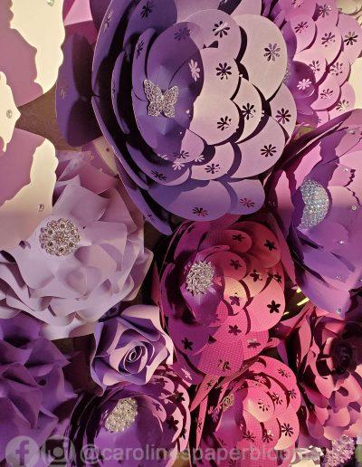Miss Fabulous Las Vegas 2019 - Carolines Paper Blooms Paper Flower Wall Backdrop Las Vegas NV Miss Fabulous Las Vegas 2019-33