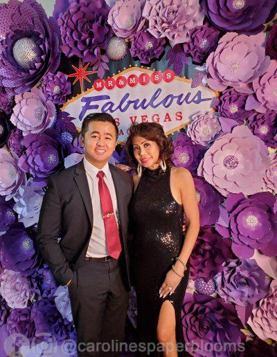 Miss Fabulous Las Vegas 2019 - Carolines Paper Blooms Paper Flower Wall Backdrop Las Vegas NV Miss Fabulous Las Vegas 2019-34