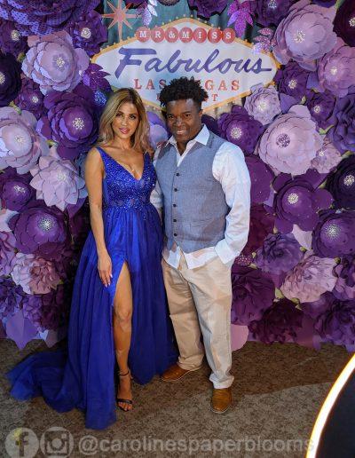 Miss Fabulous Las Vegas 2019 - Carolines Paper Blooms Paper Flower Wall Backdrop Las Vegas NV Miss Fabulous Las Vegas 2019-8